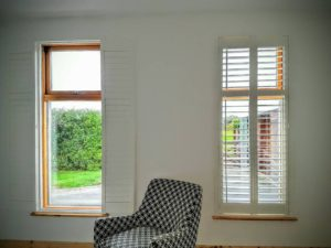 Bedroom Narrow Window-Shutters