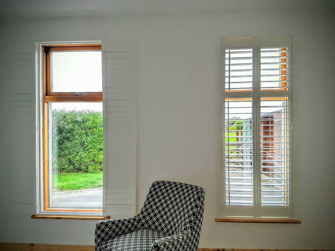 Bedroom Narrow Window-Shutters