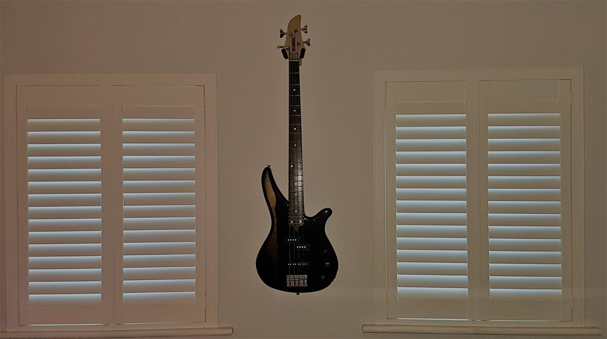 Bedroom Shutters Guitars