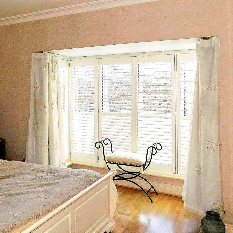 Bedroom Shutters curtains