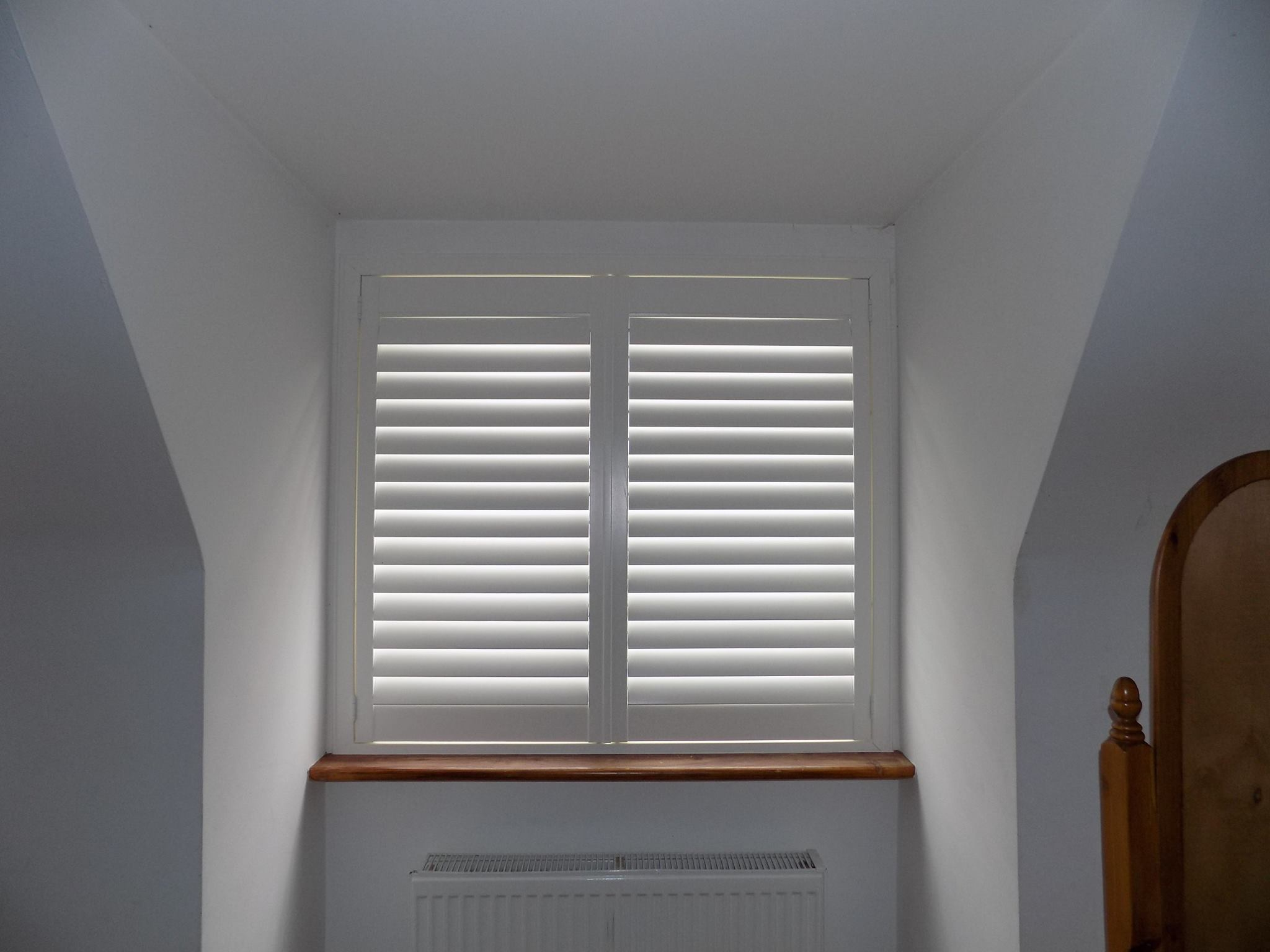 Bedroom shutters dormer