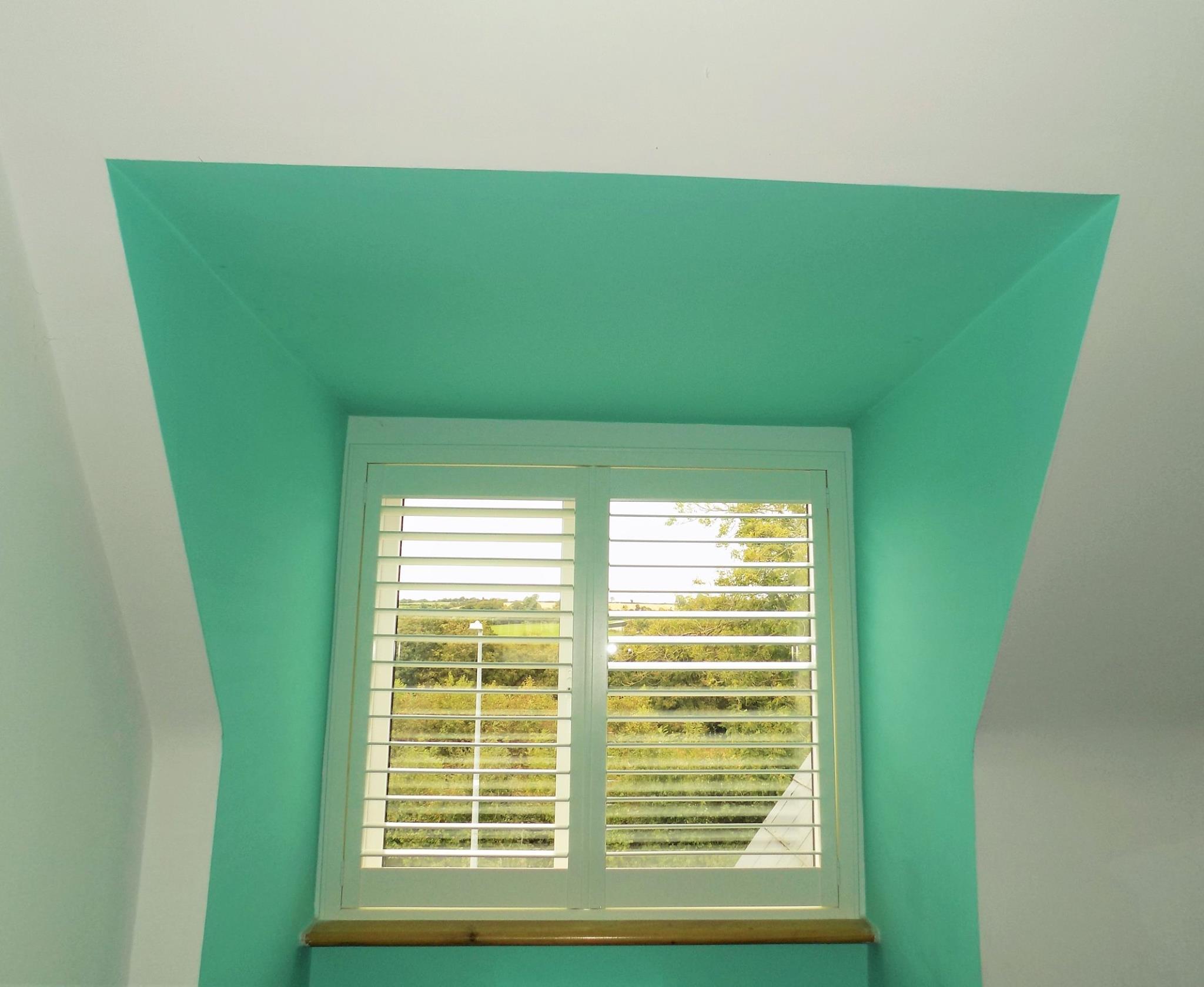 Dormer Window Shutters-Green