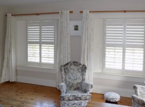 White Bedroom Shutters