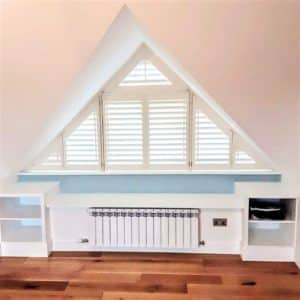Attic Dormer Shutters Closed
