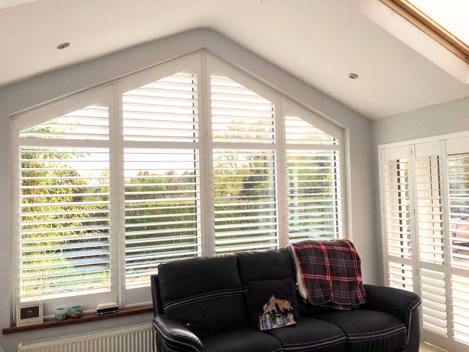 Conservatory Shaped Shutters