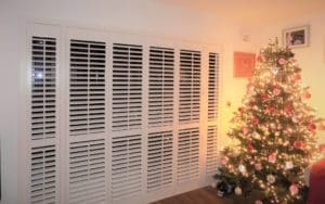 French Doors Shutters Christmas