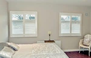 Grey Bedroom Shutters