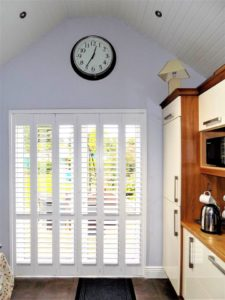 Kitchen Sliding Open Louvres