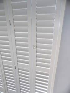 Kitchen Sliding Shutters Detail