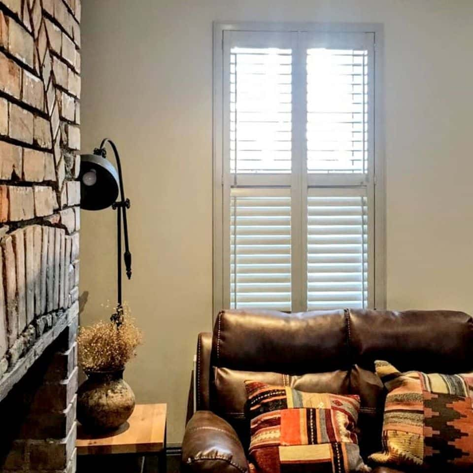 Living Room Couch Shutters