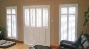 Living Room Shutter Doors