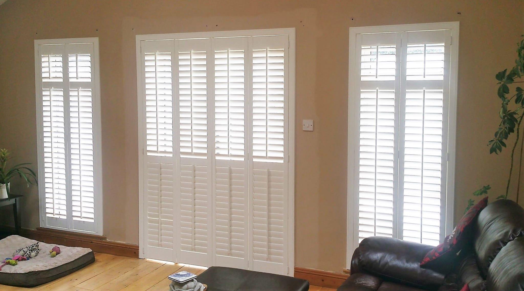 Living Room Shutter Doors