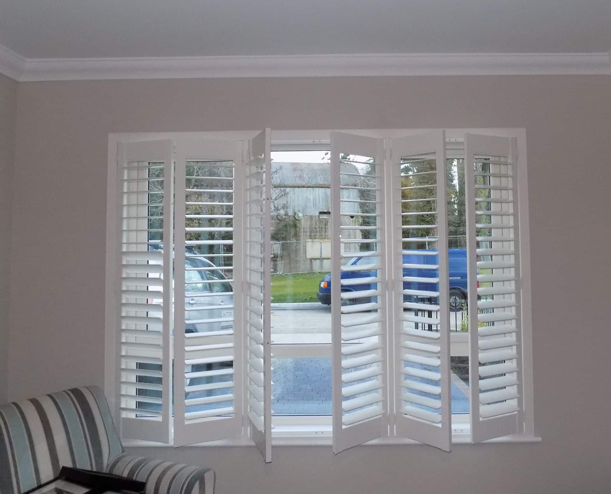 Living Room Shutters Concertina