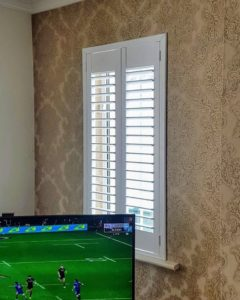 Living Room Shutters TV