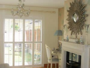 Living Room Sliding Door shutters
