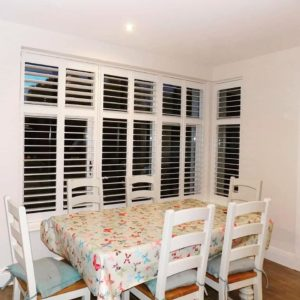 Living Room Table Shutters