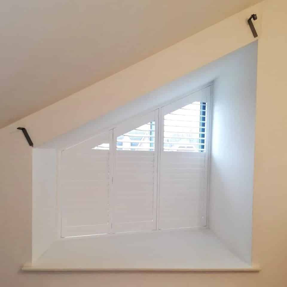 Shaped Offcentre Shutters