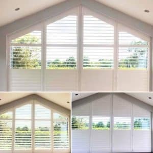 Shaped Triangle Shutters