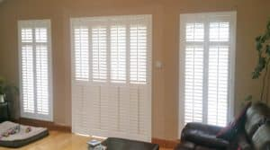 Shutter Doors with Sidelights