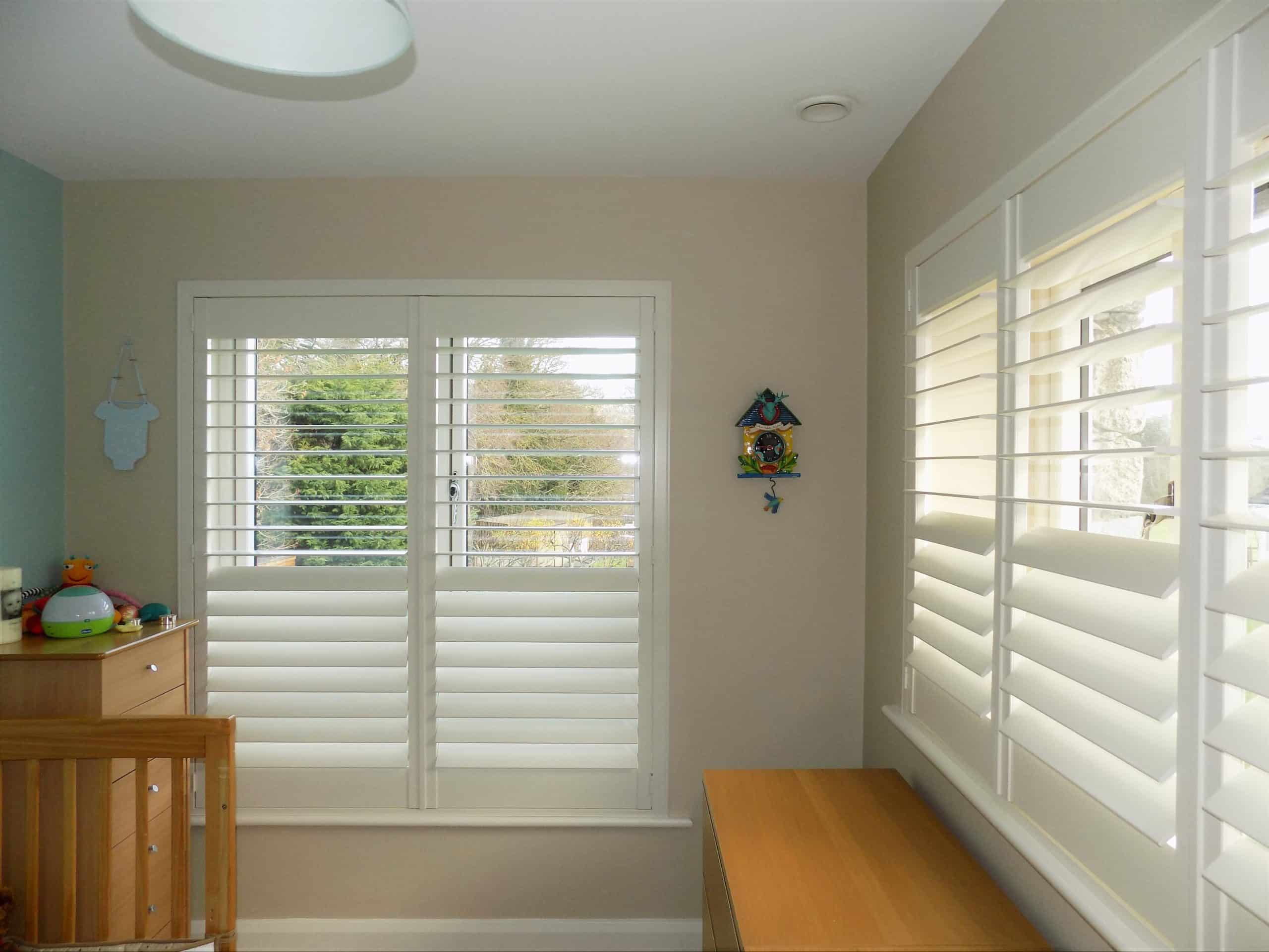 Shutters Childs Room