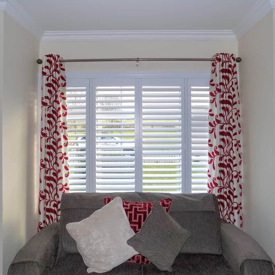 Shutters Living Room Curtains
