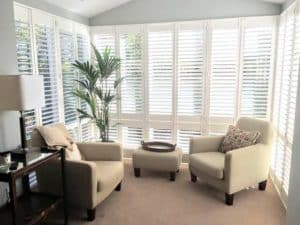 Sunroom Plantation Shutters