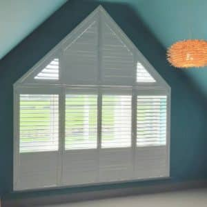 Top Triangle Shutters