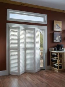 Tracked Kitchen Shutters
