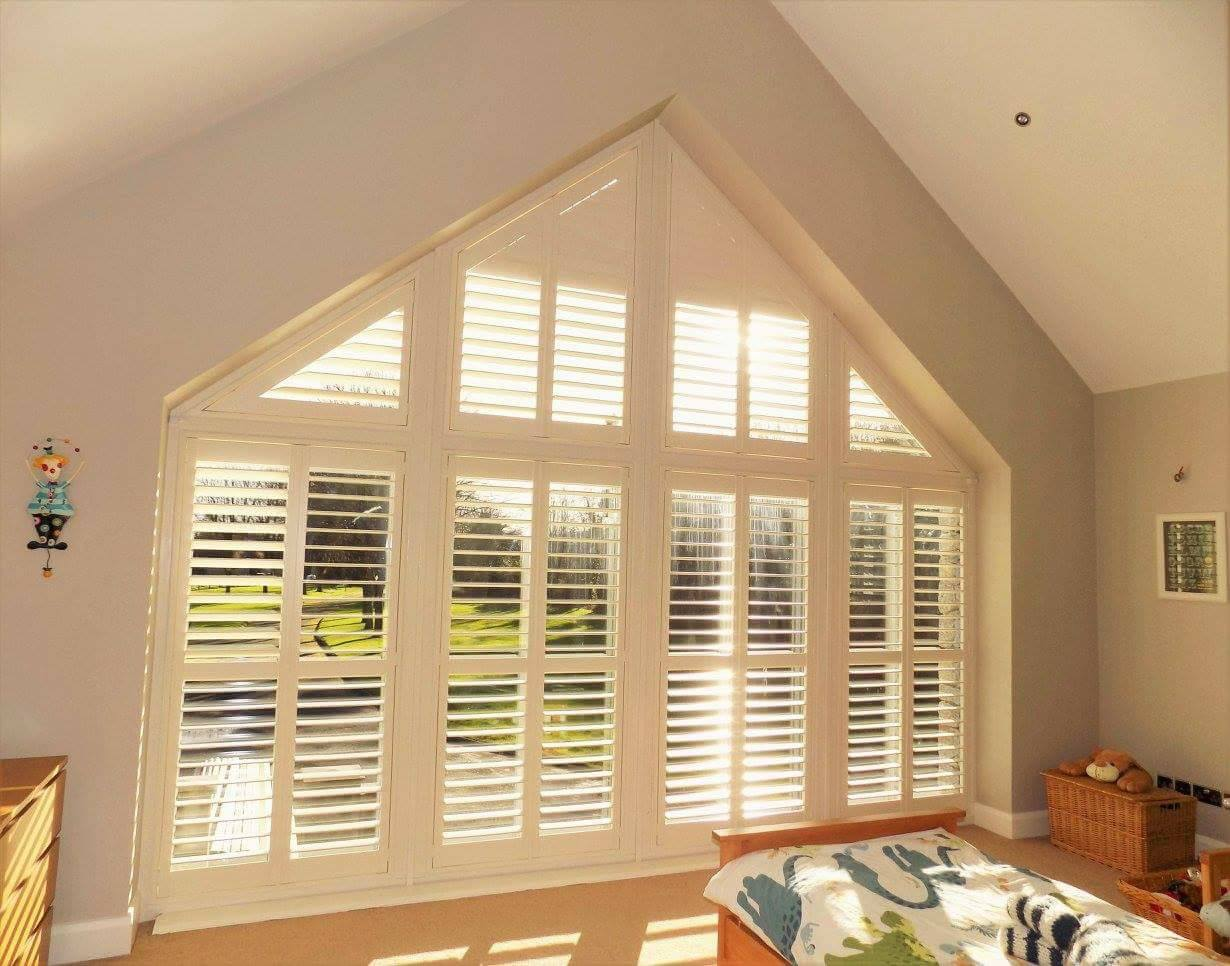 Triangle Child Bedroom Shutters