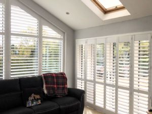 Triangle Conservatory Shutters