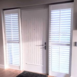 Wide Hall Door Shutters