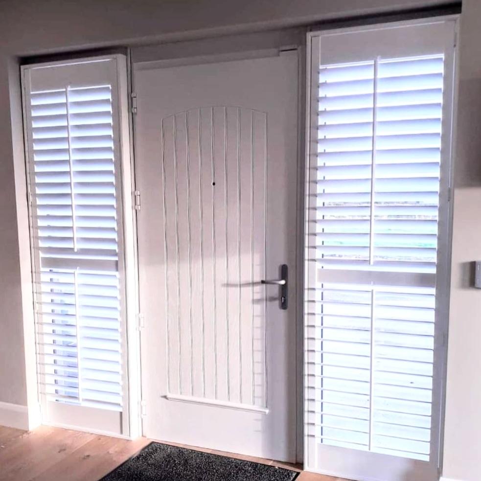 Wide Hall Door Shutters